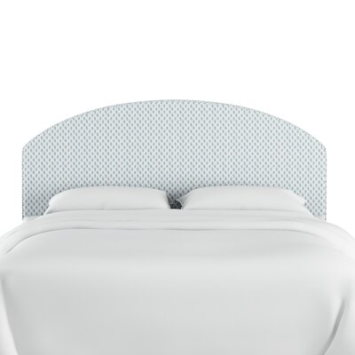 Engle Cotton Upholstered Panel Headboard Size: King