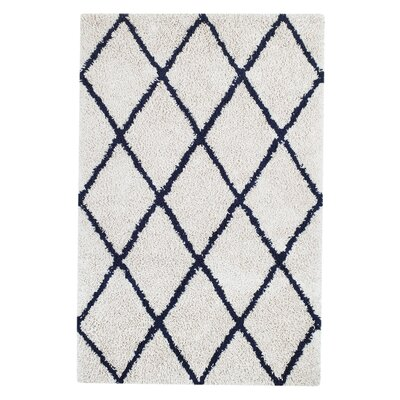 Caplan Ivory/Gray Area Rug Rug Size: 8 x 10