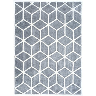 Diggins Gray/Ivory Area Rug