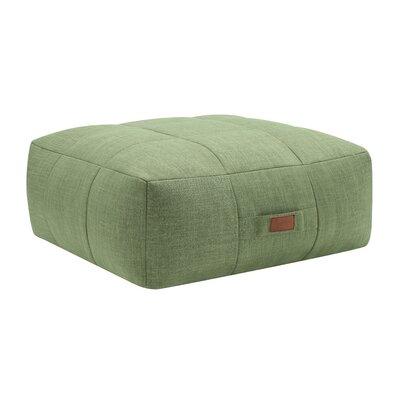Cessna Ottoman Upholstery: Green