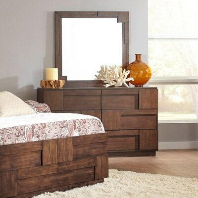Benbow 6 Drawer Dresser with Mirror