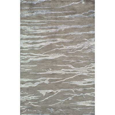 Martone Hand-Tufted Gray Area Rug Rug Size: Rectangle 8 x 11