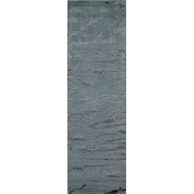 Martone Hand-Tufted Gray Area Rug Rug Size: Runner 23 x 8