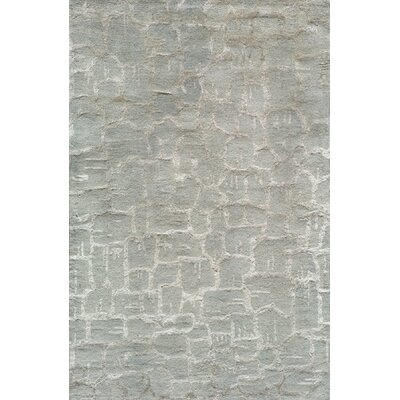 Martone Hand-Tufted Silver Area Rug Rug Size: Rectangle 5 x 8