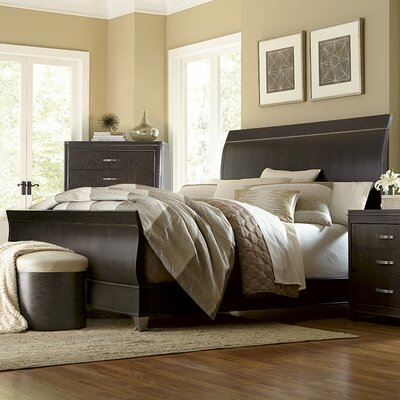 Gullett Sleigh Bed Size: California King