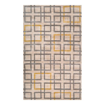 Ozuna Beige Area Rug Rug Size: Rectangle 33 x 53