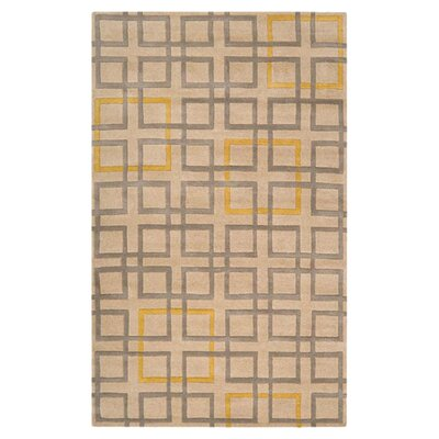Ozuna Beige Area Rug Rug Size: Rectangle 5 x 8