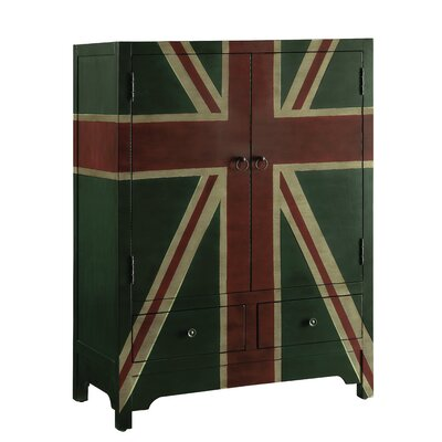 Artis 2 Drawer 2 Door Accent Cabinet