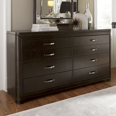 Gullett 8 Drawer Double Dresser