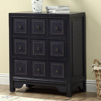 Burrell 9 Drawer Dresser