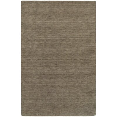 Barrientos Hand-Woven Heathered Green Area Rug Rug Size: 10 x 13