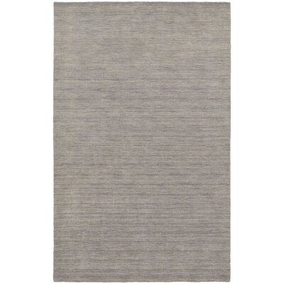 Barrientos Hand-Tufted Gray Area Rug Rug Size: 5 x 8