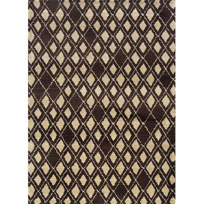 Feltner Brown/Ivory Area Rug Rug Size: Runner 27 x 10