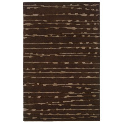 Bagley Brown Area Rug Rug Size: Rectangle 8 x 10
