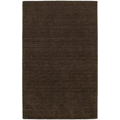 Barrientos Hand-made Brown Area Rug Rug Size: Rectangle 8 x 10