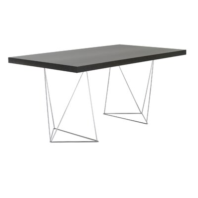 Durkee Dining Table Finish: Wenge, Size: 71