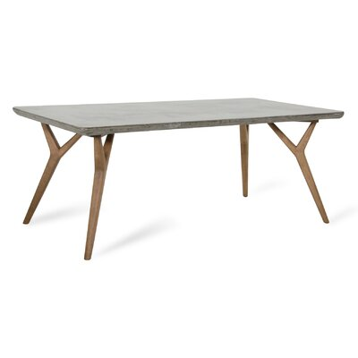Lipscomb Dining Table Finish: Hazel/Dark Gray