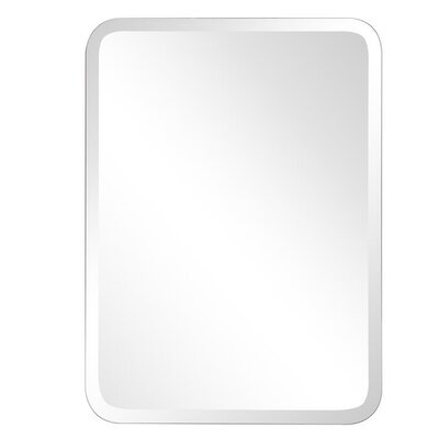 Frameless Oblong Wall Mirror