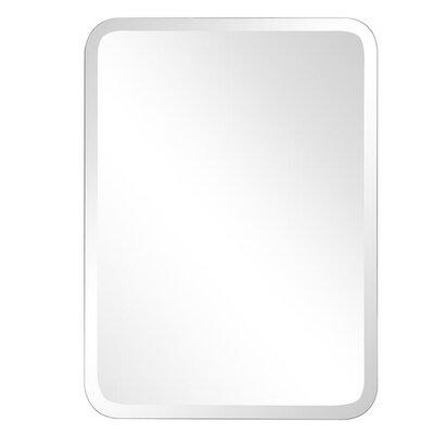 Frameless Oblong Wall Mirror