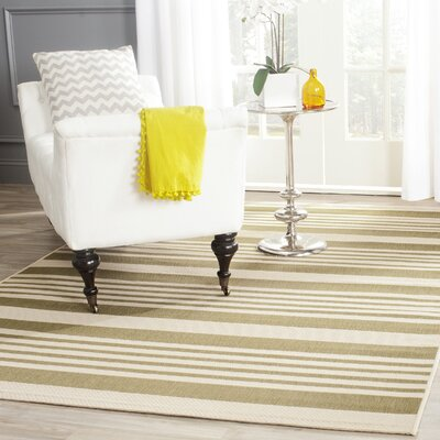 Eres Green/Beige Indoor/Outdoor Area Rug