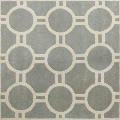 Averett Grey / Ivory Rug Rug Size: Square 7