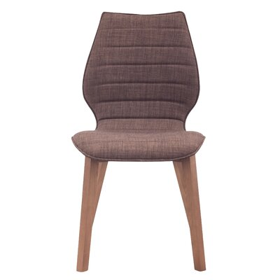 Moores Side Chair Finish: Tobacco