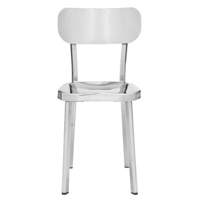 ShoppingCadeaux.com view picture of Rizzuto Stainless Steel Side Chair