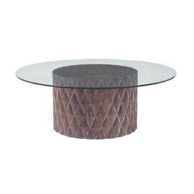 Faunce Coffee Table with Lift Top Size: 17 H x 48 W x 48 D