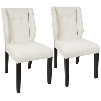 Gonzalo Side Chair Upholstery: Cream