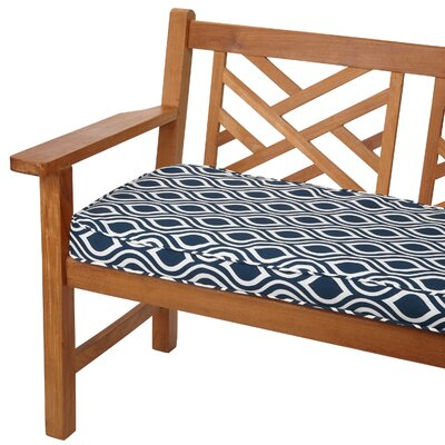 Starks Outdoor Bench Cushion Size: 48 W x 19 D