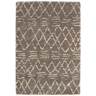 Lopiccolo Brown Area Rug Rug Size: Rectangle 92 x 129