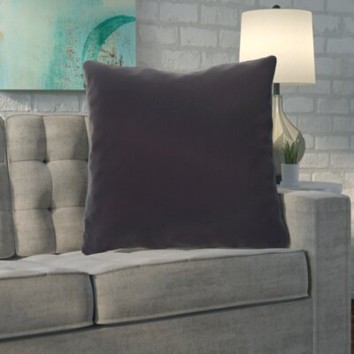 Merauke Throw Pillow Color: Royal Blue