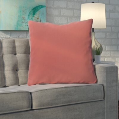 Merauke Throw Pillow Color: Orange