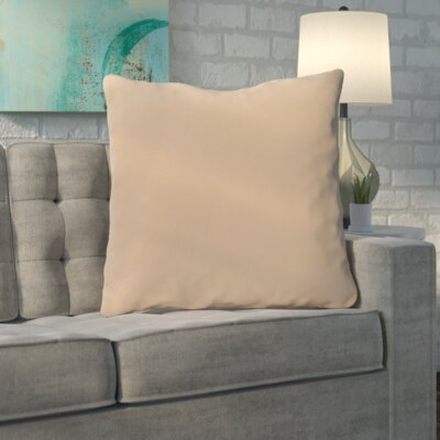 Merauke Solid Decorative Throw Pillow Color: Toffee