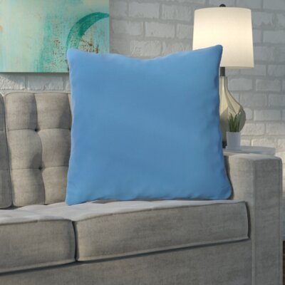 Merauke Throw Pillow Color: Sky Blue