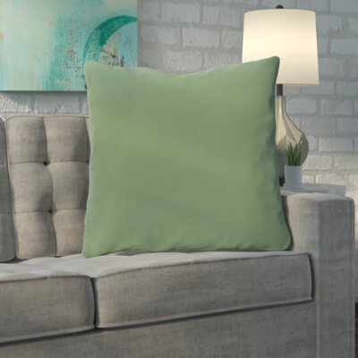 Merauke Solid Decorative Throw Pillow Color: Green