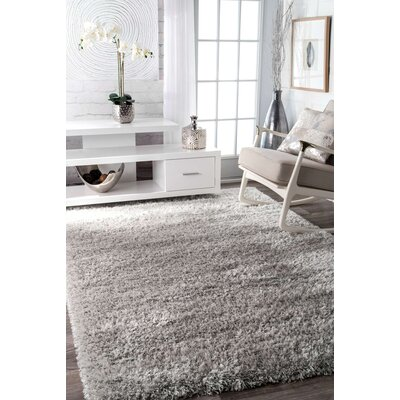 Lippert Gray Area Rug Rug Size: 4 x 6