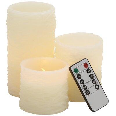 4 Piece Flameless Candle Set