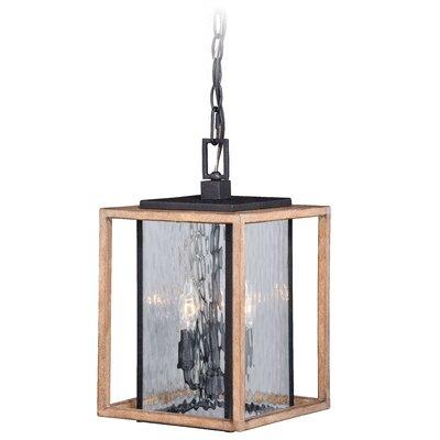 Brayden Studio Hernadez 3-Light Outdoor Wall Lantern
