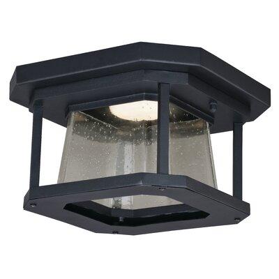 Brayden Studio Herrell 1-Light Outdoor Flush Mount