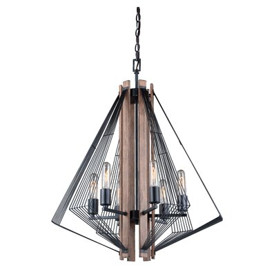 Ballou 6-Light Semi Flush Mount