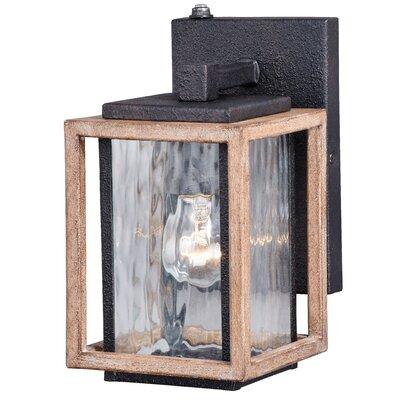 Brayden Studio Hernadez 1-Light Outdoor Wall Lantern