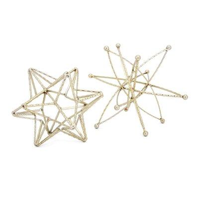 2 Piece Star Scuplture Set