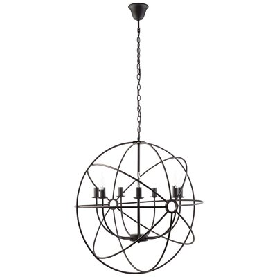 Geyer 7-Light Candle Chandelier