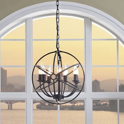 Geyer 7-Light Candle-Style Chandelier