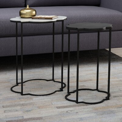 Hetzel 2 Piece Nesting Tables