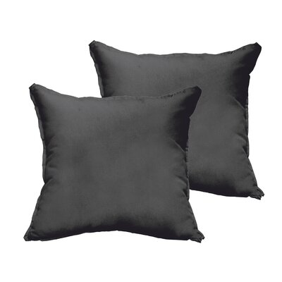 Hibbitts Collins Indoor/Outdoor Throw Pillow Size: 22 H x 22 W x 6 D
