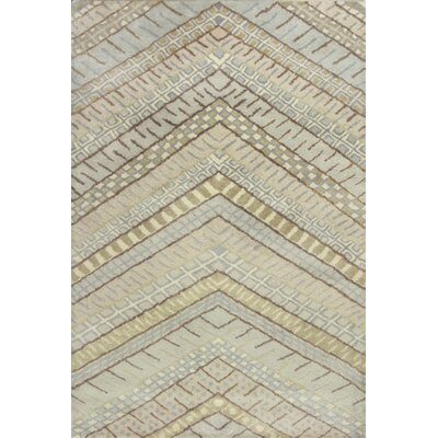 Haupt Frost Chevron Area Rug Rug Size: Rectangle 5' x 7'6