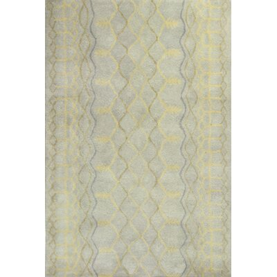 Haupt Grey & Silver Area Rug Rug Size: Rectangle 5' x 7'6