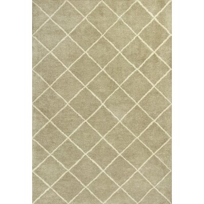 Haupt Views Tan Area Rug Rug Size: Rectangle 5 x 76